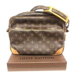 Authentic Louis Vuitton Nile Crossbody bag